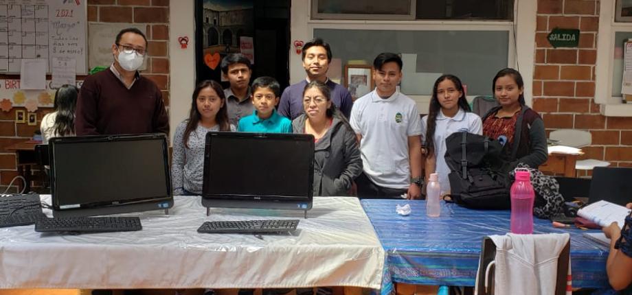 Computadoras para Casa ASOL zona 16, Guatemala